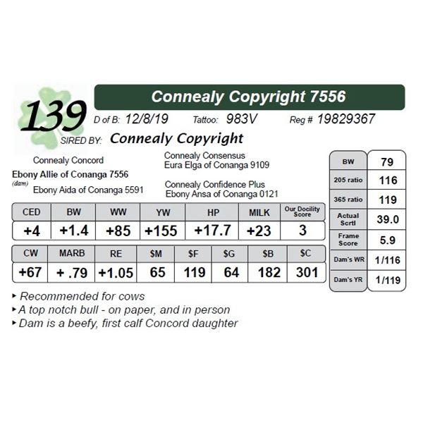 Connealy Copyright 7556
