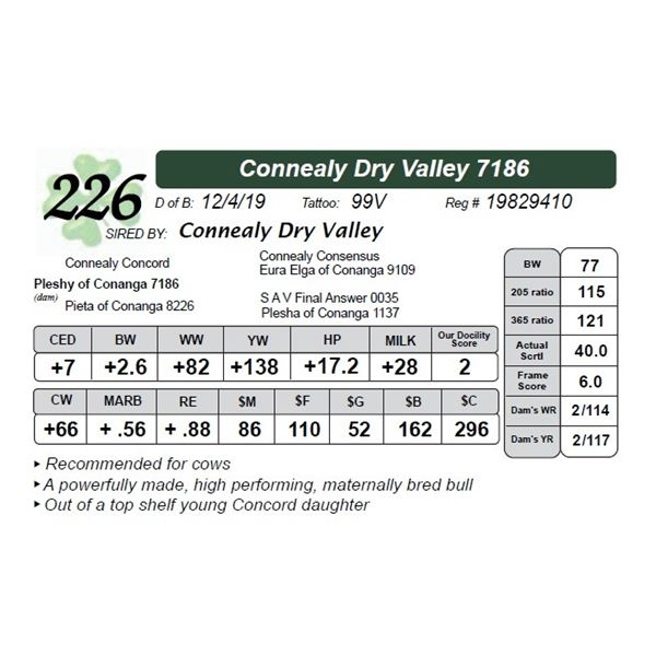 Connealy Dry Valley 7186