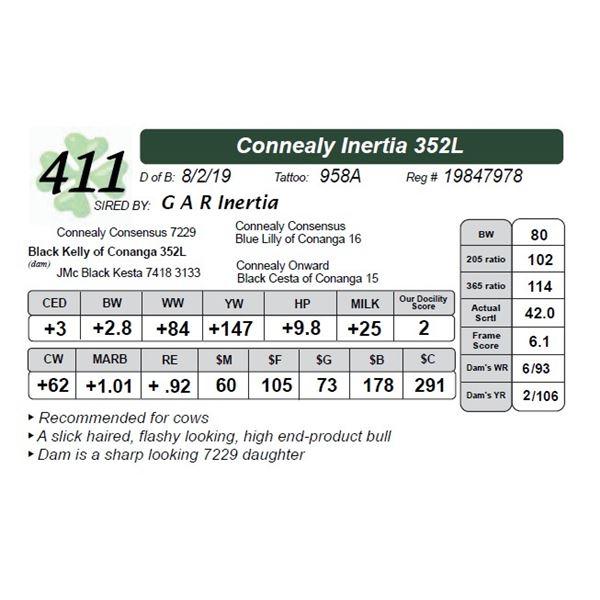 Connealy Inertia 352L