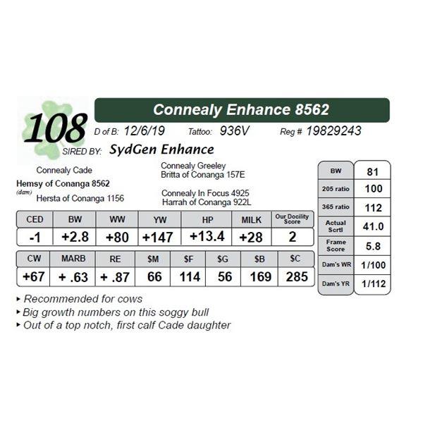Connealy Enhance 8562