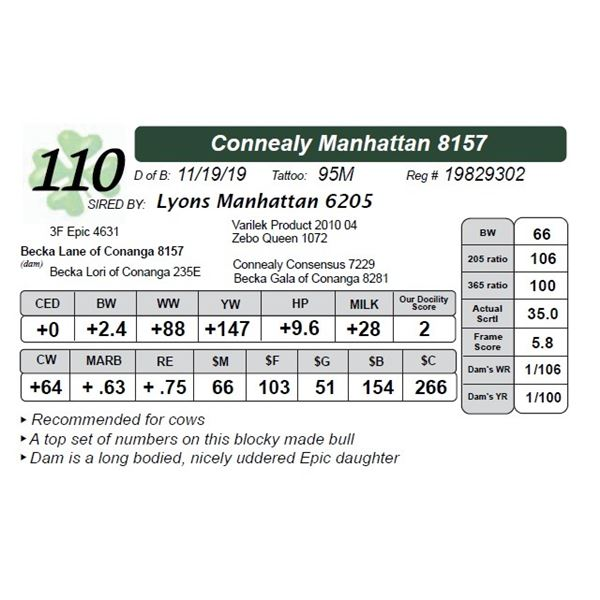 Connealy Manhattan 8157