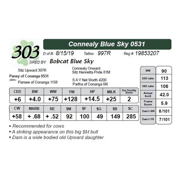 Connealy Blue Sky 0531