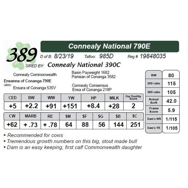 Connealy National 790E