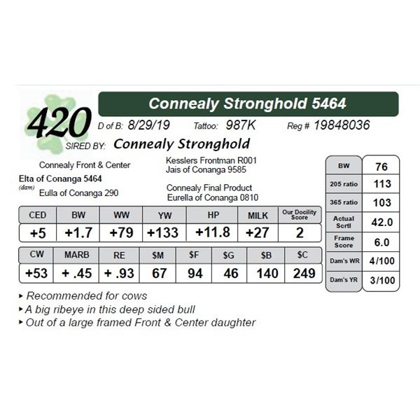 Connealy Stronghold 5464