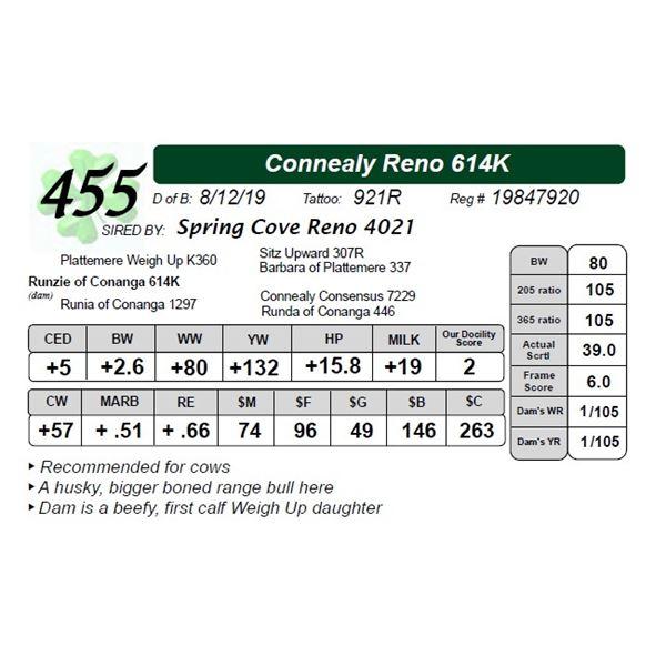 Connealy Reno 614K