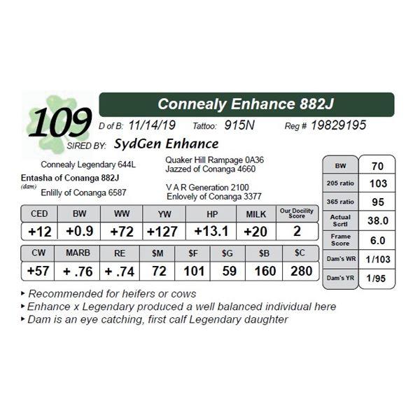 Connealy Enhance 882J