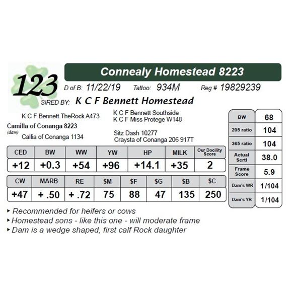 Connealy Homestead 8223