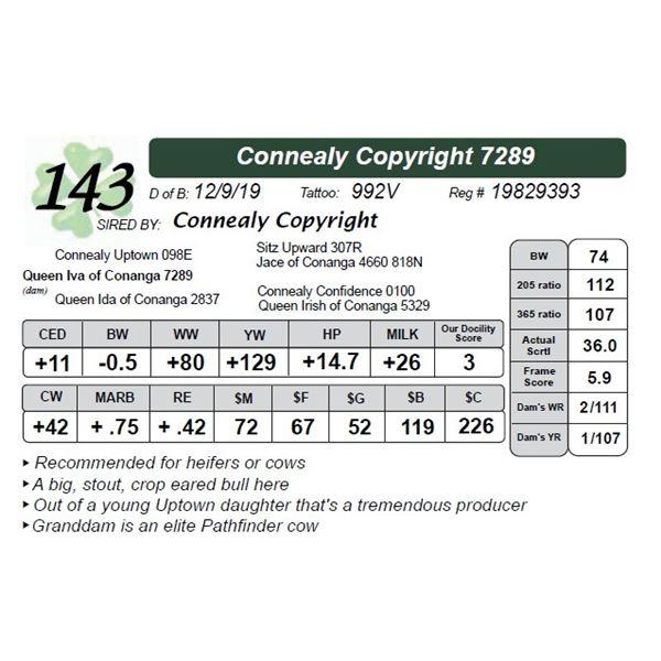 Connealy Copyright 7289