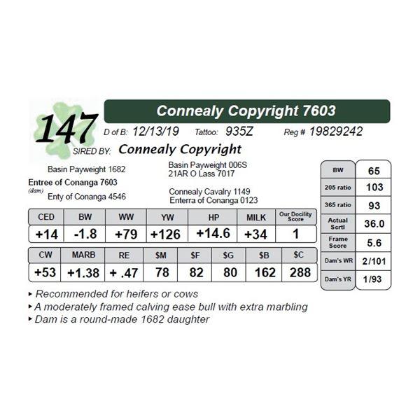 Connealy Copyright 7603