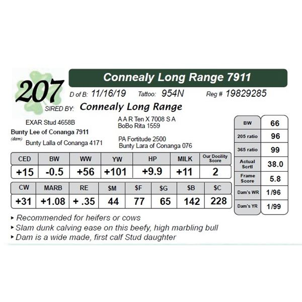 Connealy Long Range 7911