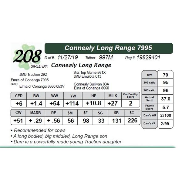 Connealy Long Range 7995