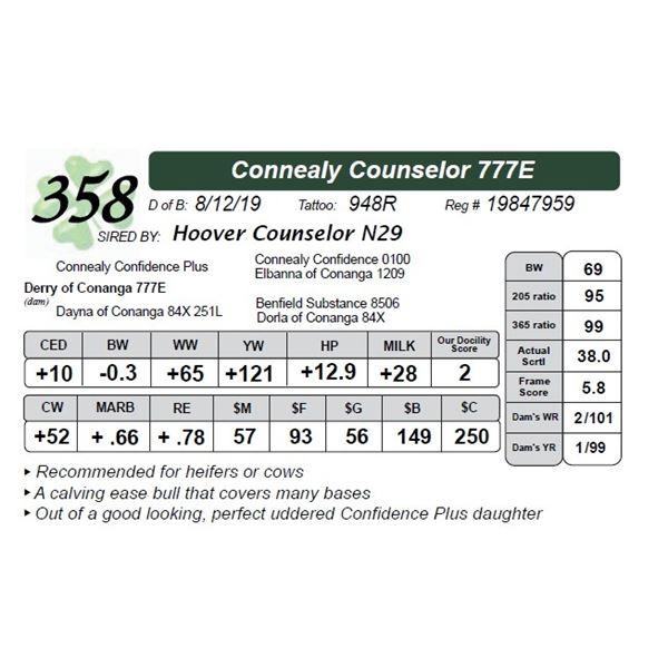 Connealy Counselor 777E