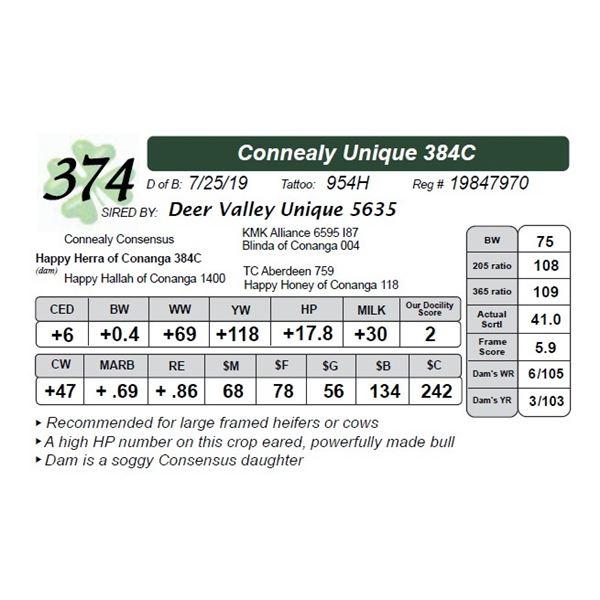 Connealy Unique 384C