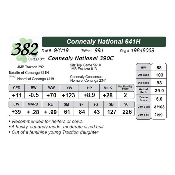 Connealy National 641H