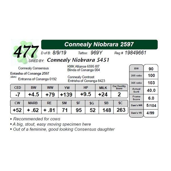 Connealy Niobrara 2597