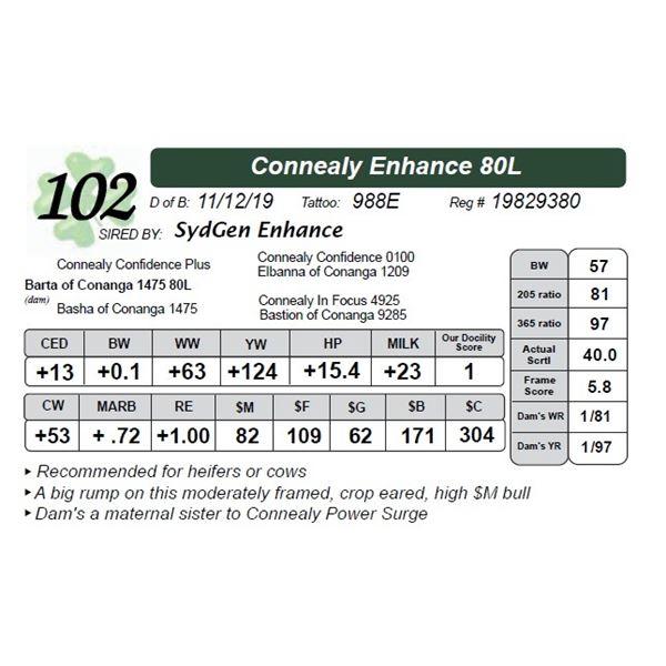 Connealy Enhance 80L