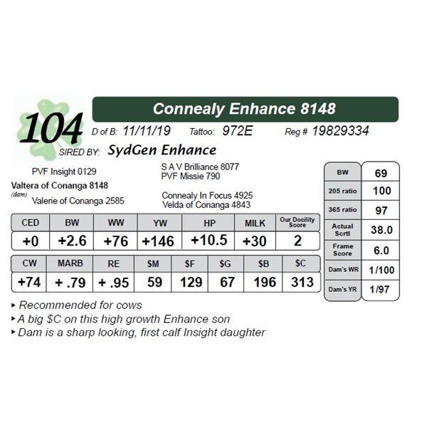 Connealy Enhance 8148