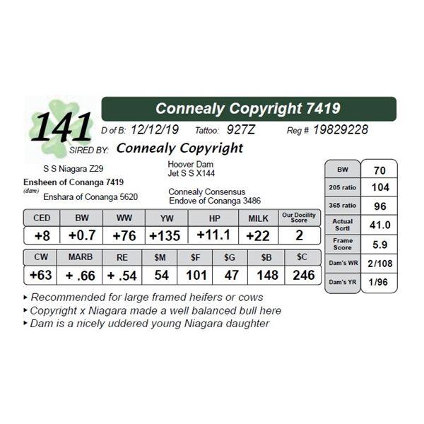 Connealy Copyright 7419