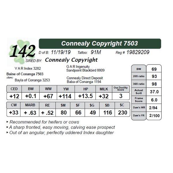 Connealy Copyright 7503