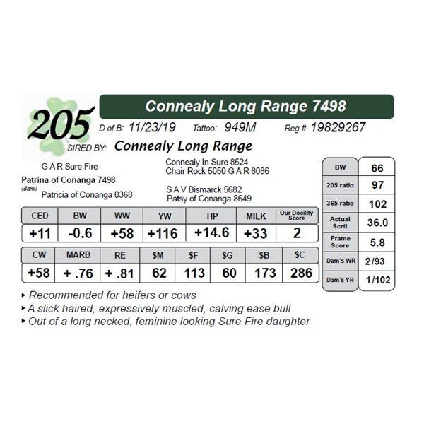 Connealy Long Range 7498