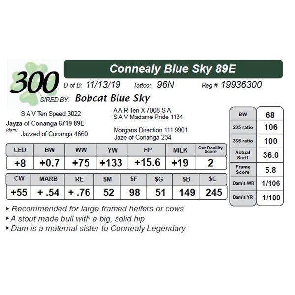 Connealy Blue Sky 89E