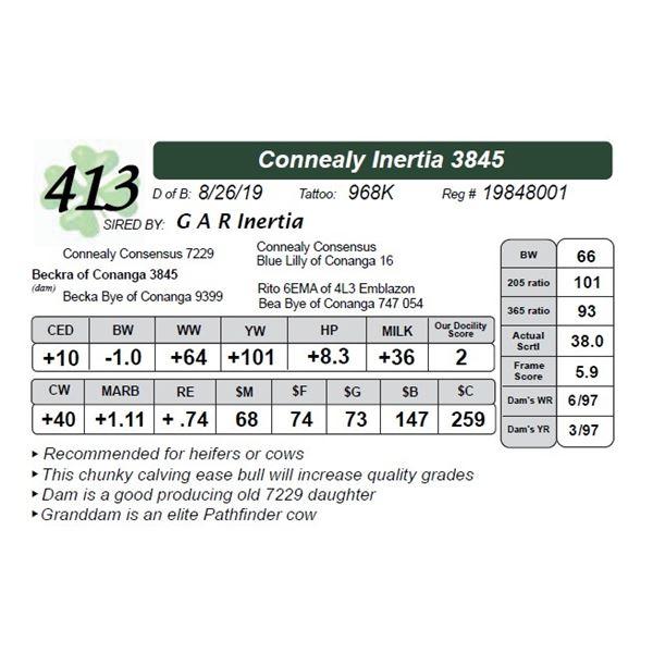 Connealy Inertia 3845