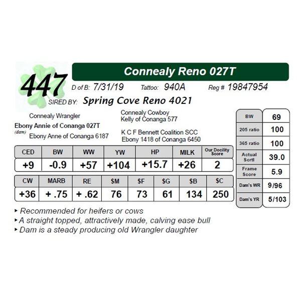 Connealy Reno 027T
