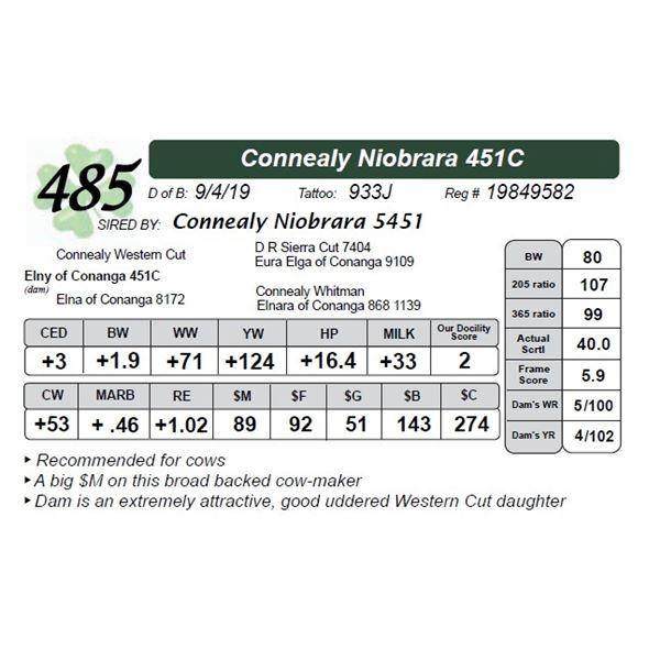 Connealy Niobrara 451C