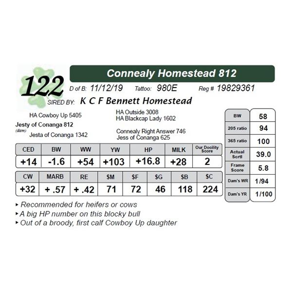 Connealy Homestead 812