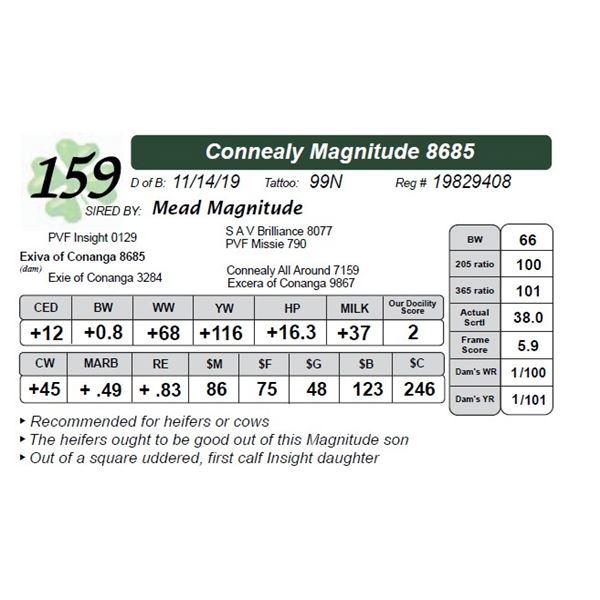 Connealy Magnitude 8685