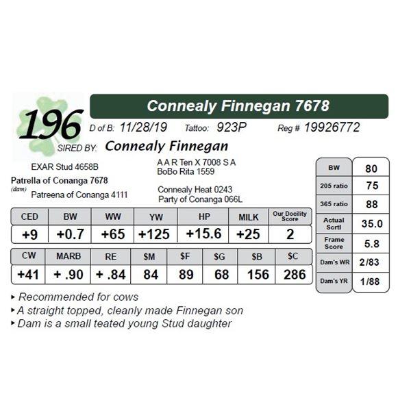 Connealy Finnegan 7678