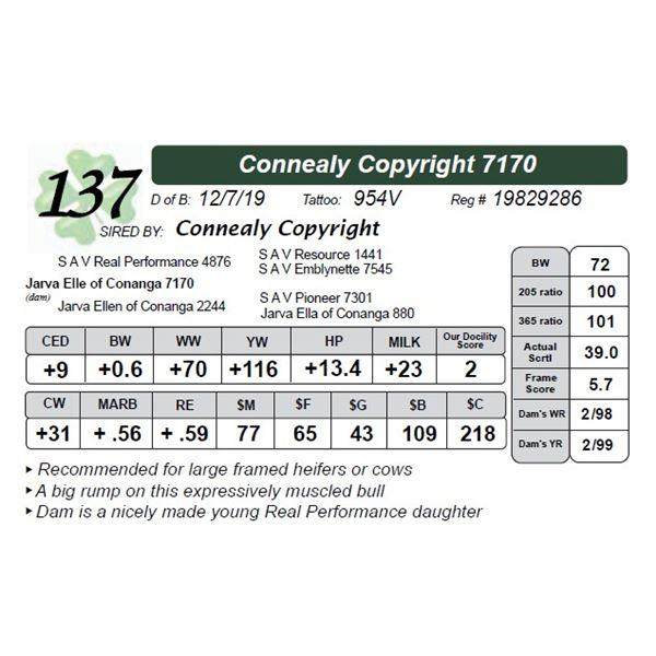 Connealy Copyright 7170