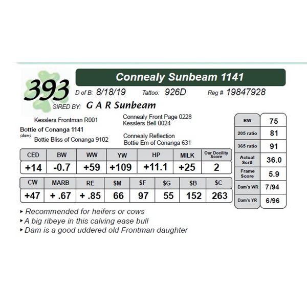Connealy Sunbeam 1141