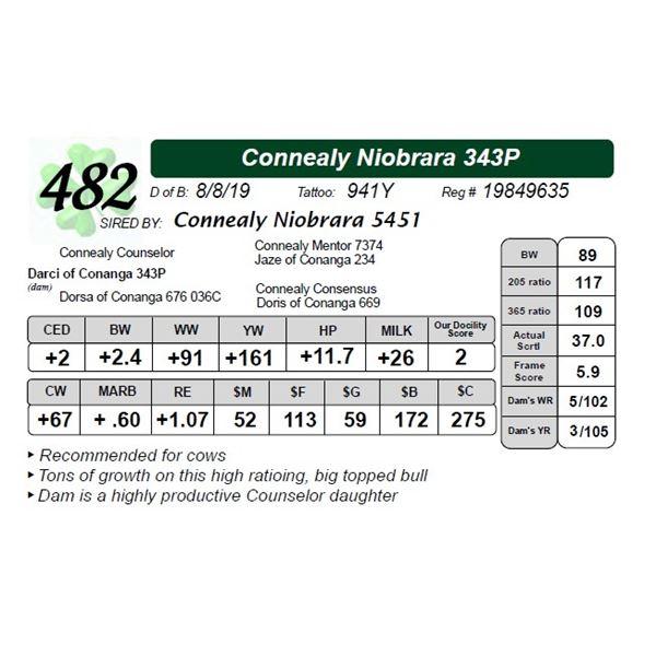 Connealy Niobrara 343P