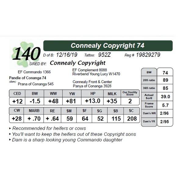Connealy Copyright 74