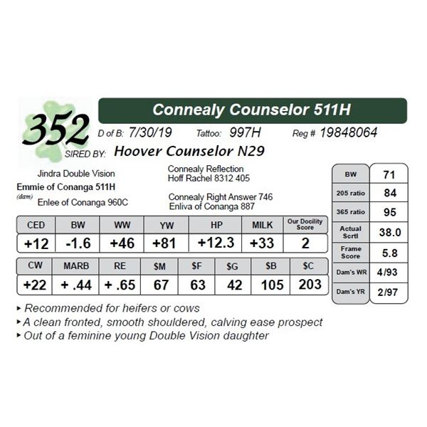 Connealy Counselor 511H