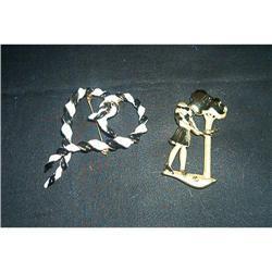 Two Signed JJ's Pins/Vintage #1457005