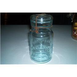 """Lighting"" Fruit Jar #1457013"