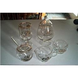 Glass-8-Pieces of 50th Anniversary Glassware #1457022
