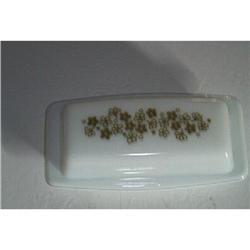 Pyrex Crazy Dasiy Butter Dish #1457025