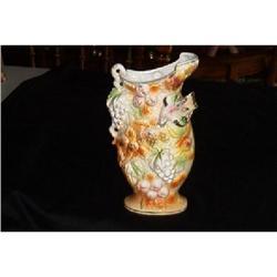 """Betson"" Handpainted Pitcher Vase #V934 #1457033"