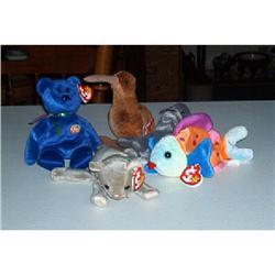 Five Retired Beanie Babies #1457035
