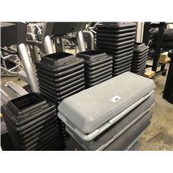 LARGE LOT OF STEPPERS WITH RISERS