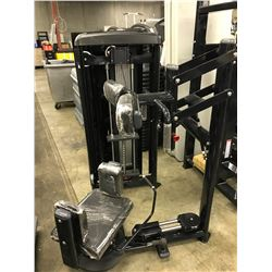 LOWER BODY SWIVEL CABLE STATION (PARTS MISSING) NO WEIGHTS