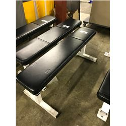 BLACK LATERAL BENCH