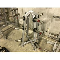 FLEX FITNESS 12 POSITION FLAT WEIGHT RACK