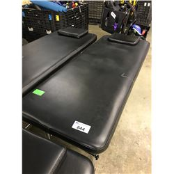 BLACK MASSAGE TABLE