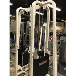 LIFE FITNESS DUAL CABLE STATIONS (MISSING CABLE CROSSOVER)