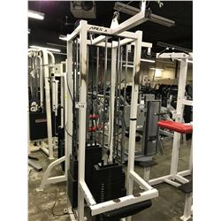 APEX 4 PERSON CABLE PULL STATION (MISSING BENCHES)