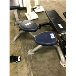 2 BLUE HOIST SMALL BENCHES